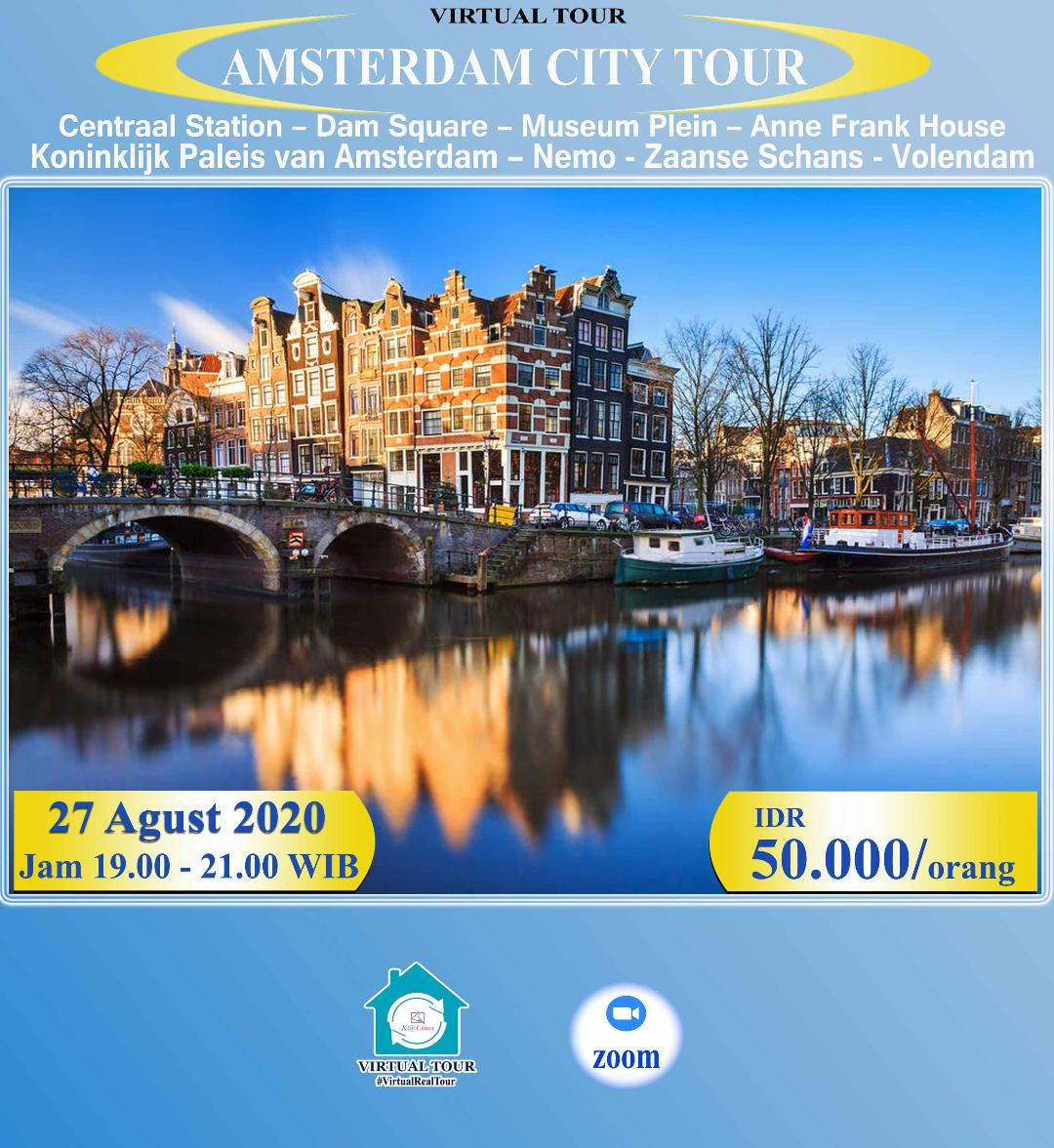 Amsterdam Virtual City Tour