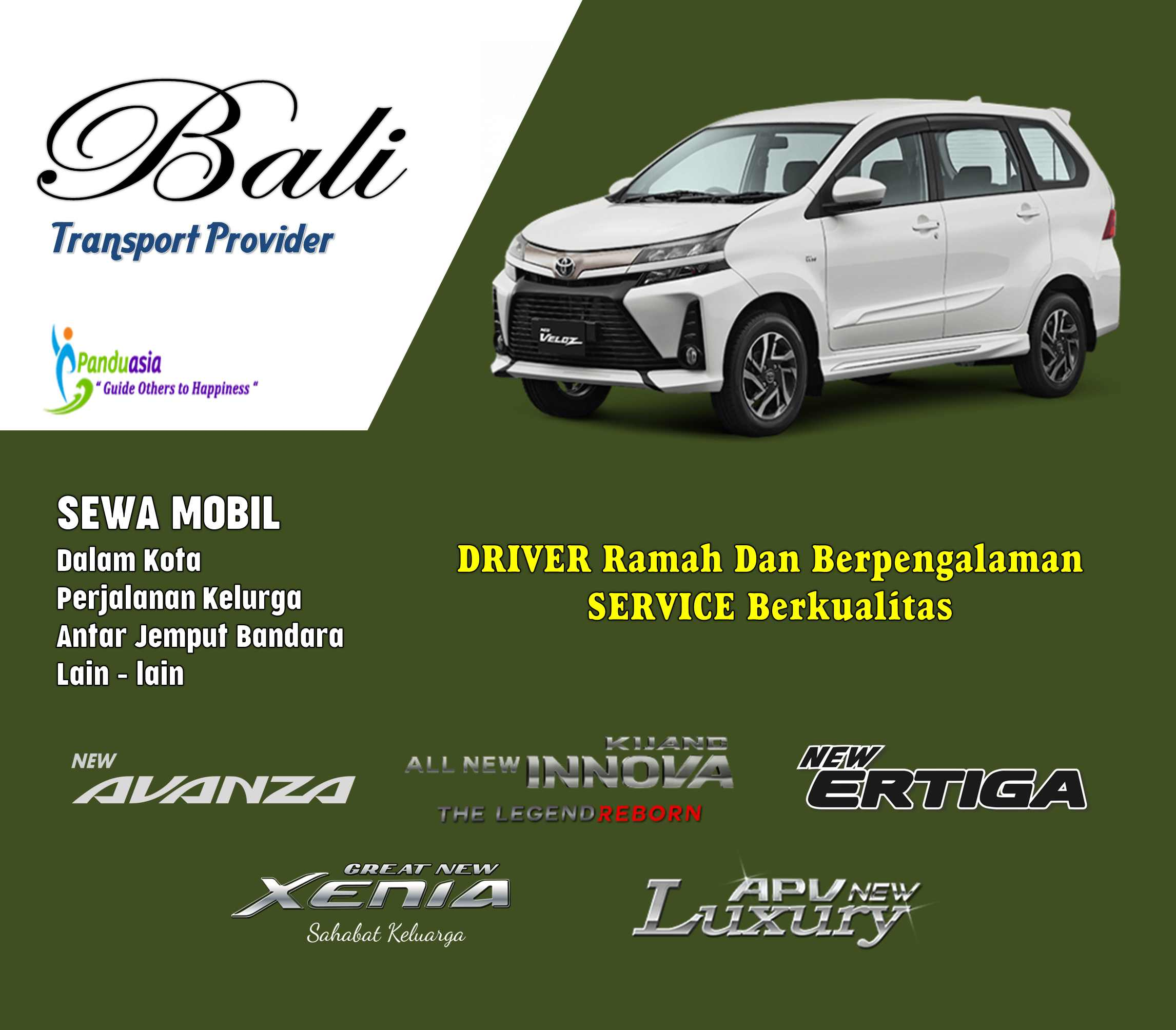 Car And Driver in BALI