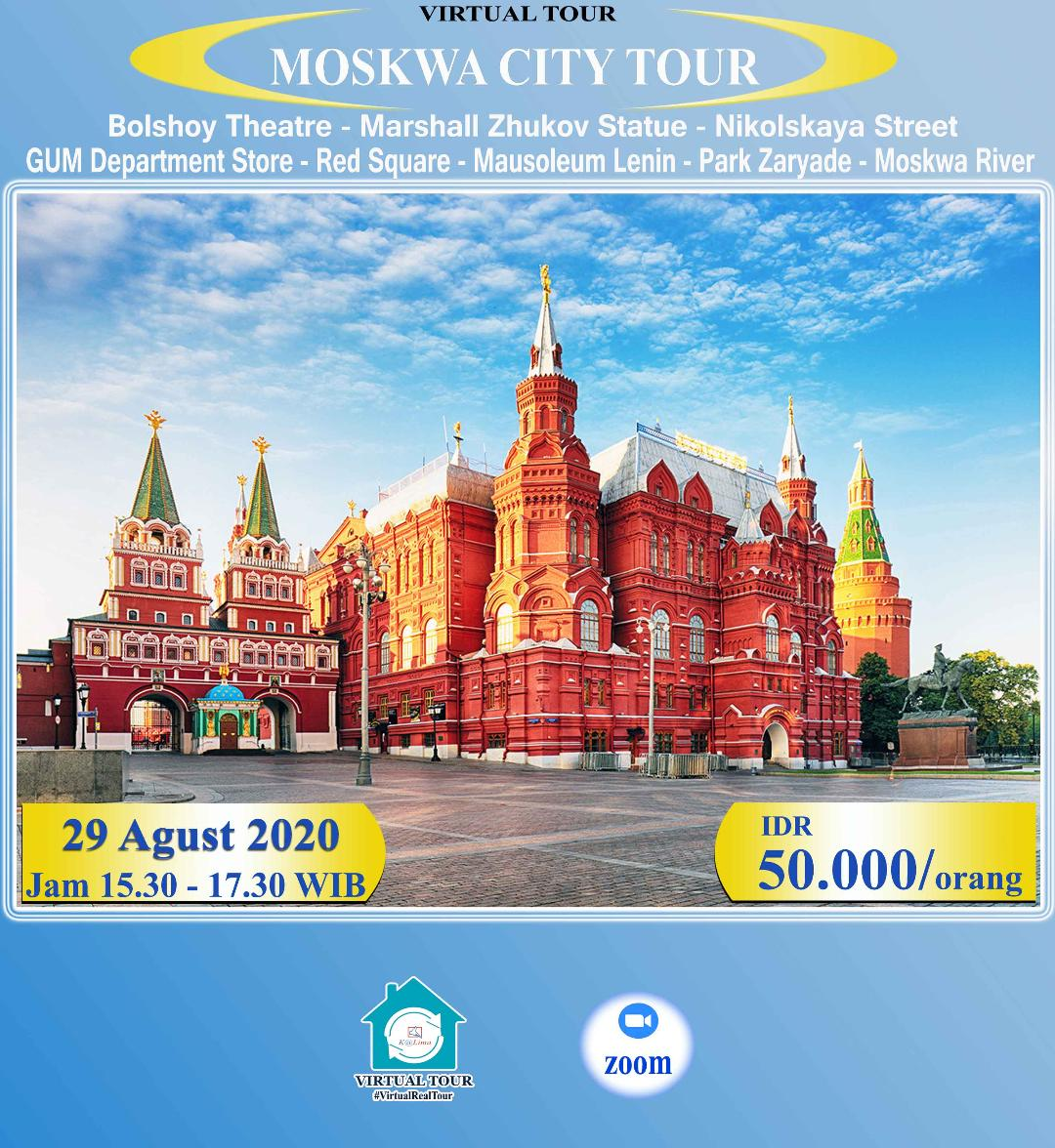 Moskwa Virtual City Tour