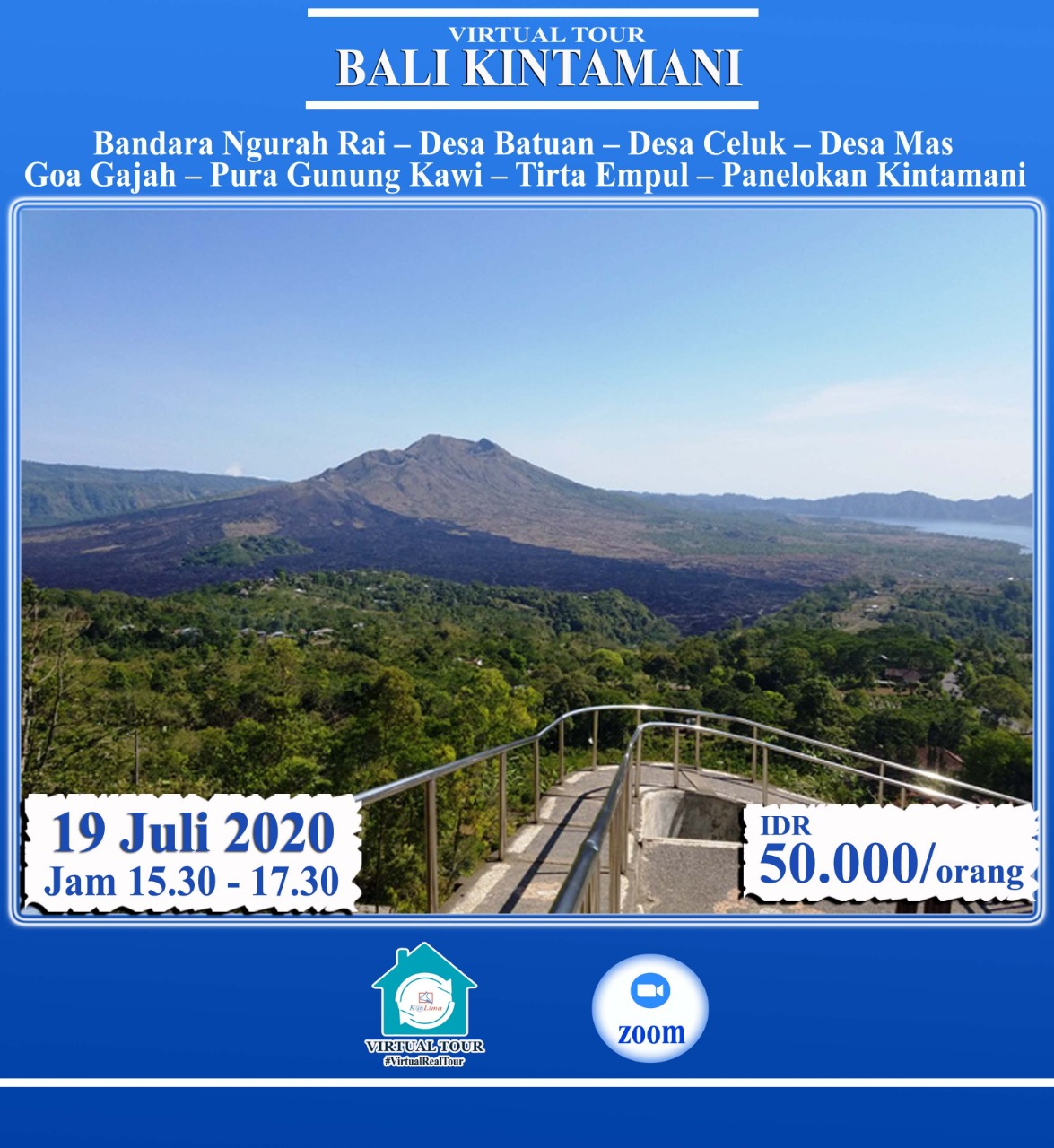 Virtual Tour Bali Kintamani