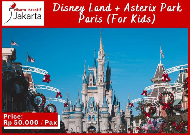 Virtual Tour Disney Land & Asterix Park Paris