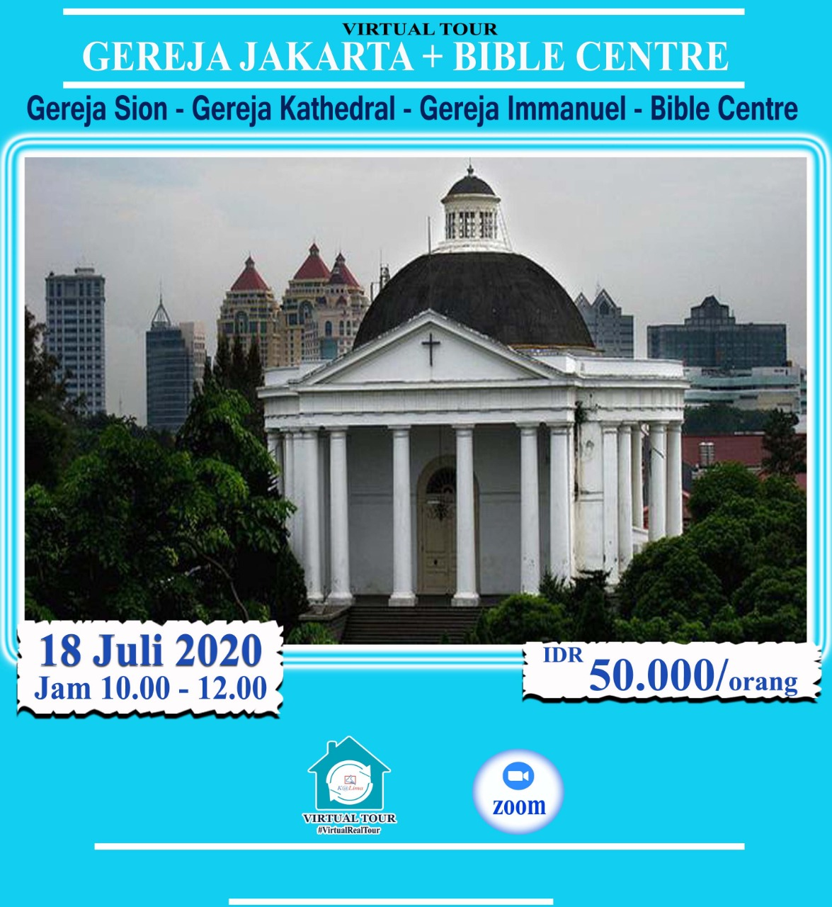Virtual Tour Gereja dan Bible