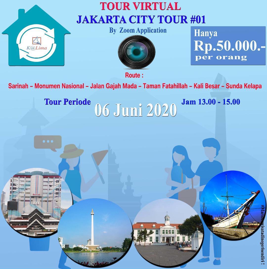 Virtual Tour Kota Jakarta