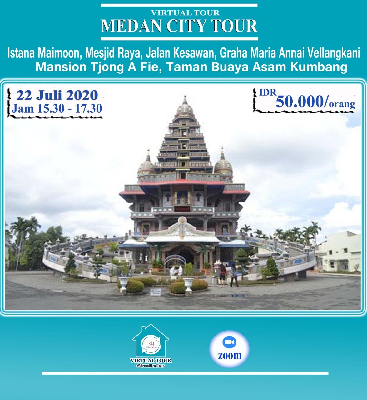 Virtual Tour Kota Medan