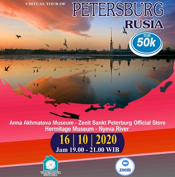 Virtual Tour Petersburg Rusia