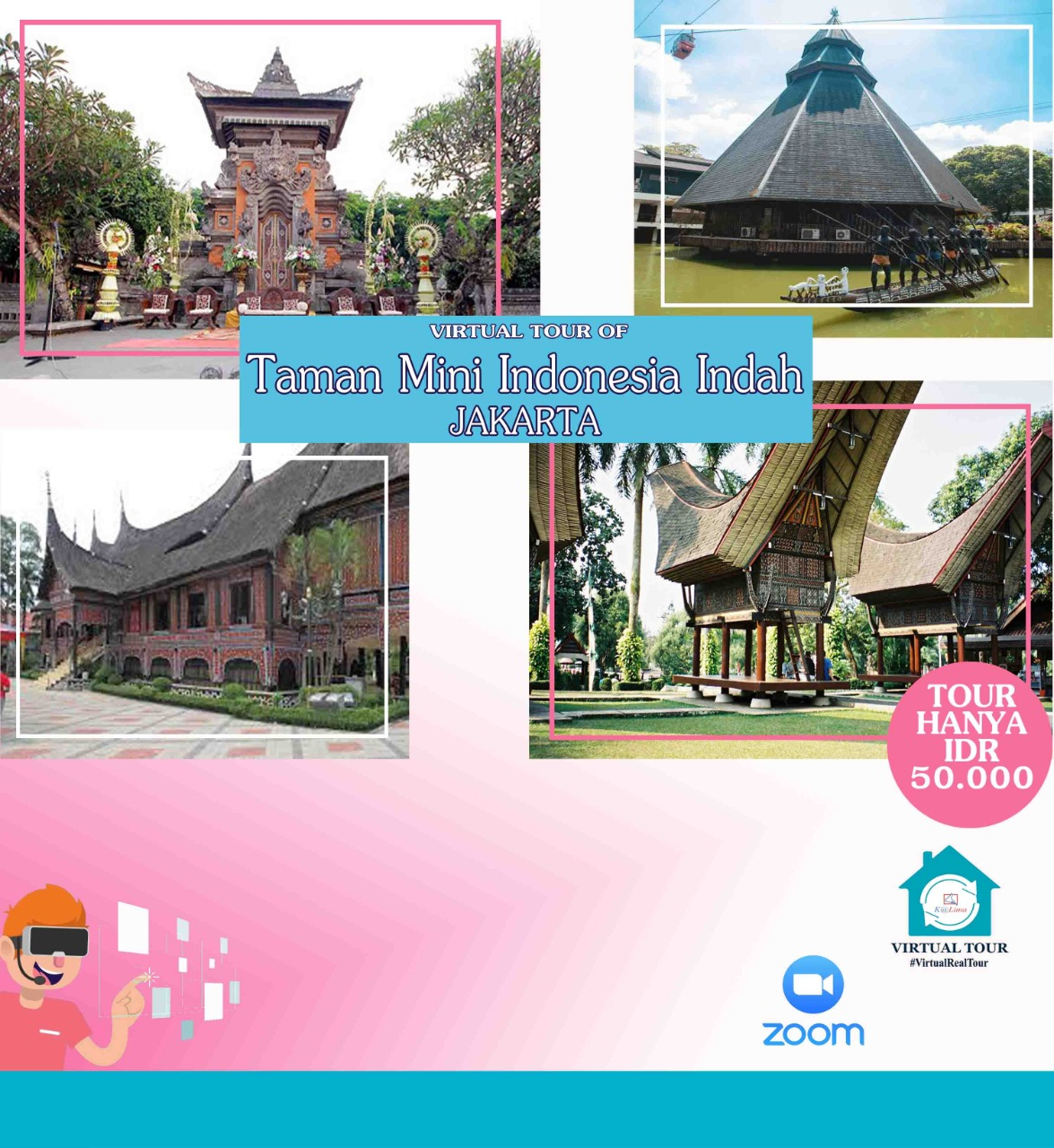 Virtual Tour Taman Mini Indonesia Indah